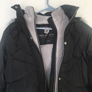Free Country Power Down Jacket with Hood size L